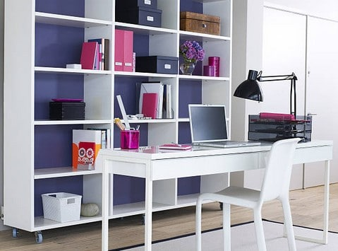 travail domicile comment installer son bureau. Black Bedroom Furniture Sets. Home Design Ideas